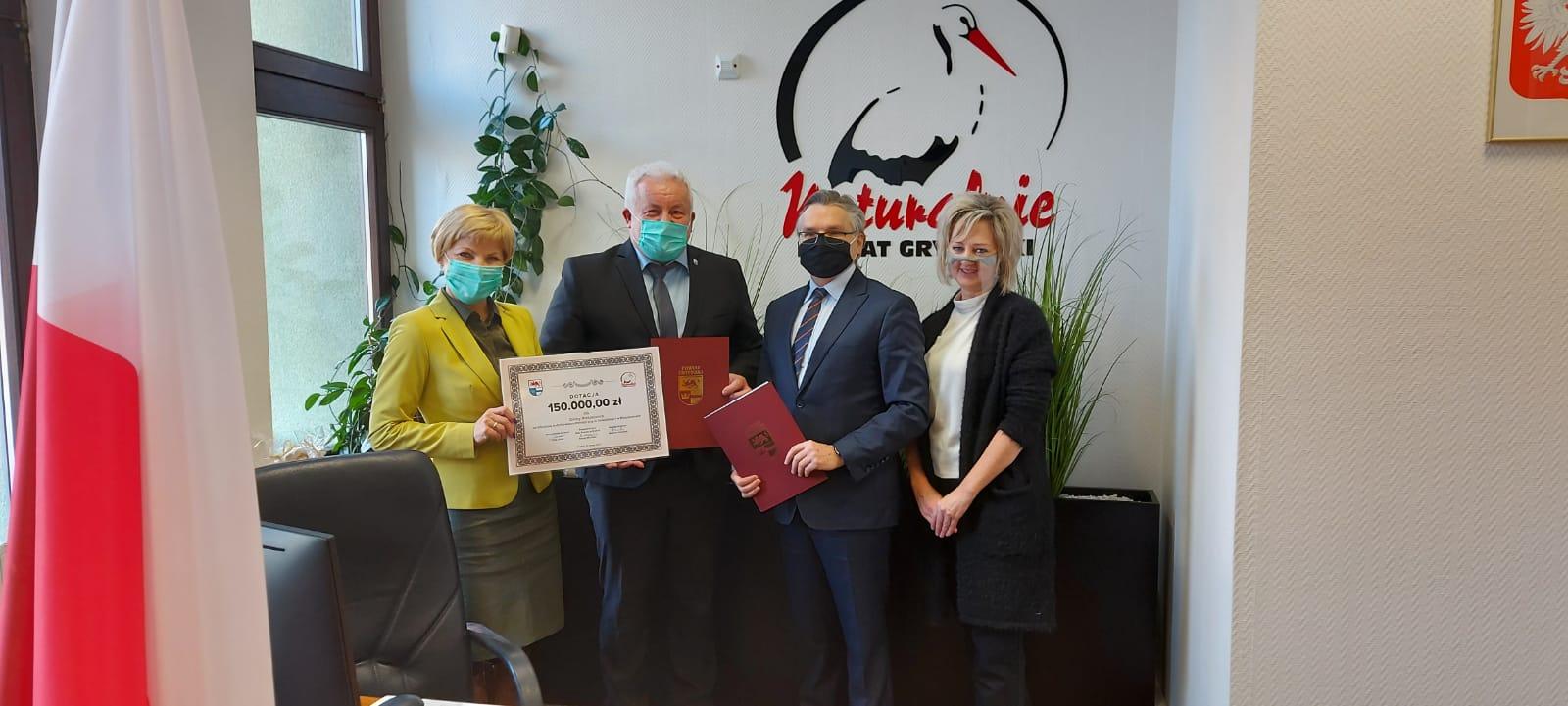 Zdjęcie - grupowe po podpisania umowy